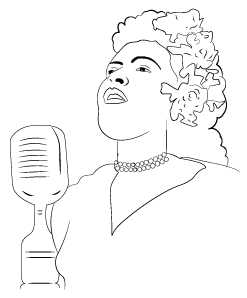 Sketch - Billie Holiday